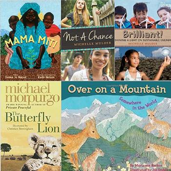 "A ""Spring Mix"" of International School Reads"