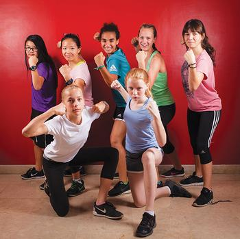 Physical Fitness Tied To Kids Academic >> Girls Get Strong At Cac The International Educator Tie Online