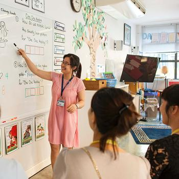 UNIS Hanoi Delivers Early Childhood Training Program