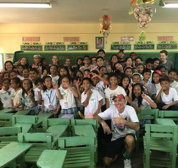 Rebuilding a Future: International School Manila's Journey with Estancia Central School