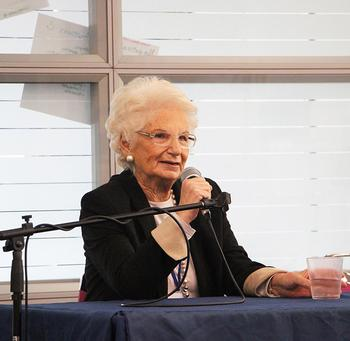 Holocaust Survivor Liliana Segre Speaks at AS Milan